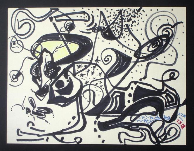 Abstrakt, Grafik, Löwe, Insekten