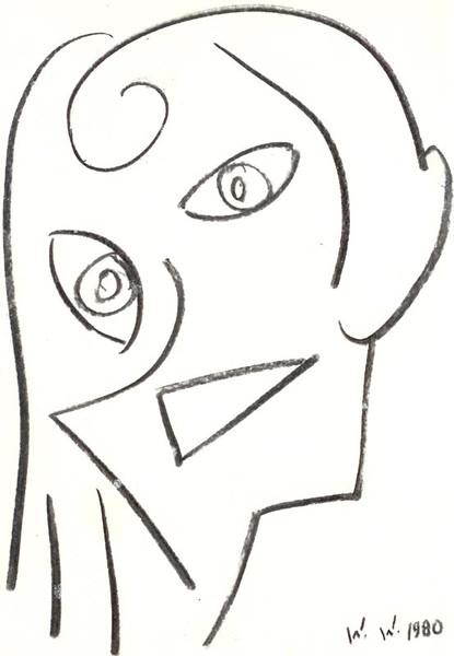 Grafik, Abstrakt, Portrait