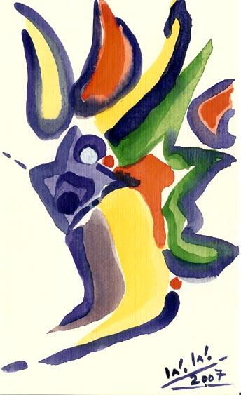Malerei, Abstrakt, Komposition