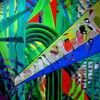 Vogel, Orchester, Ölmalerei, Wald