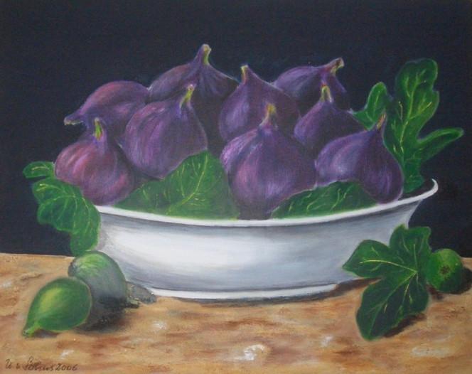 Malerei, Früchte, Stillleben
