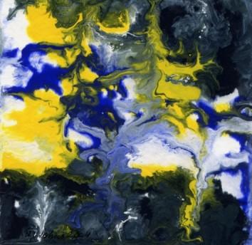 Abstrakt, Malerei, Fantasie, Frau, Stier