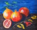 Stillleben, Früchte, Malerei