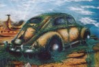 Käfer, Airbrush, Malerei