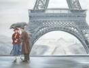 Malerei, Figural, Regen