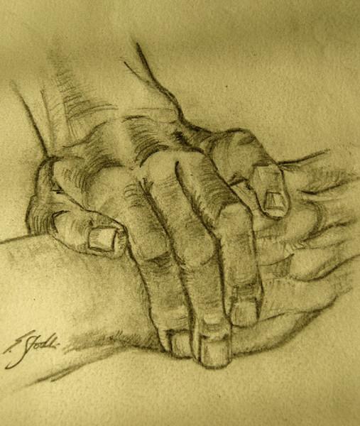 Anatomie, Zeichnung, Hände, Skizze, Studie, Zeichnungen
