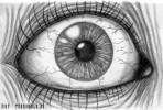 Augen, Zeichnung, Zeichnungen, Portrait