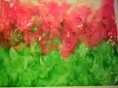 Blumen, Rot, Surreal, Sommer
