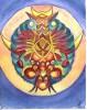 Blüte, Baum, Malerei, Mandala
