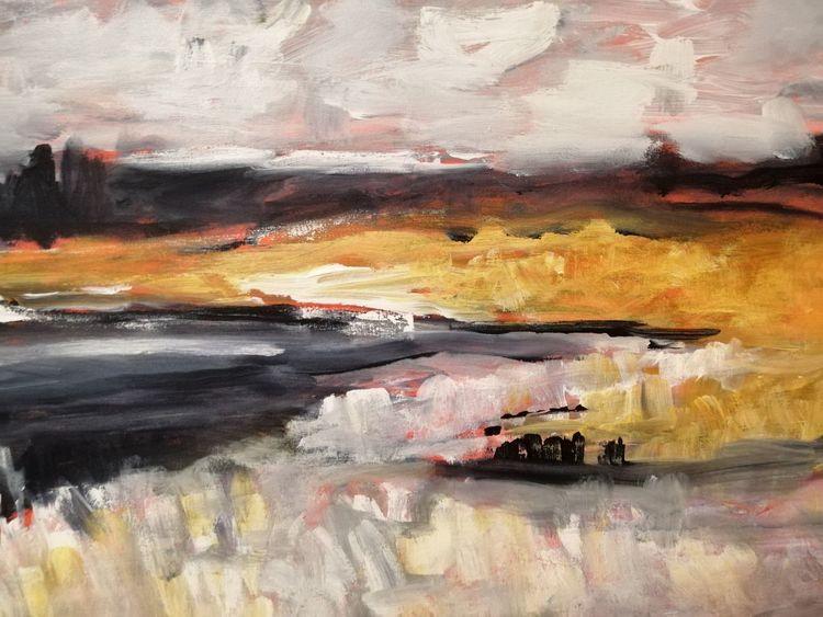 Wasser, Freude, Malerei