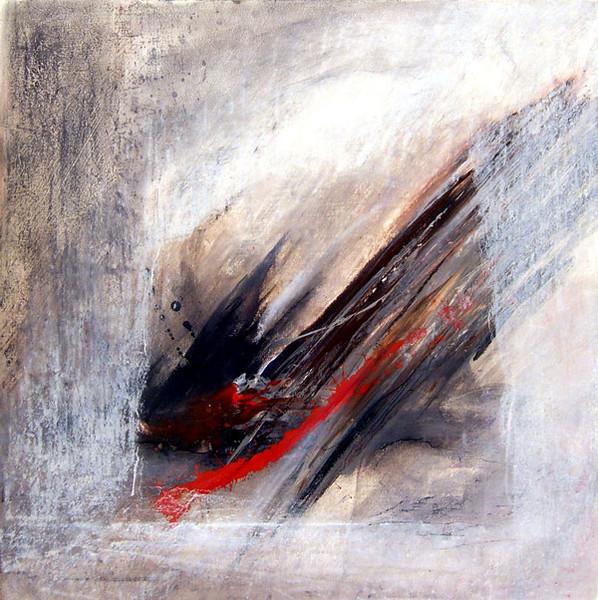 Abstrakt, Malerei, Gouachemalerei