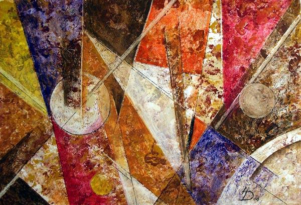 Bunt, Acrylmalerei, Pastellmalerei, Abstrakt, Malerei,