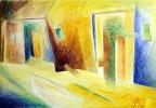 Malerei, Pastellmalerei, Abstrakt