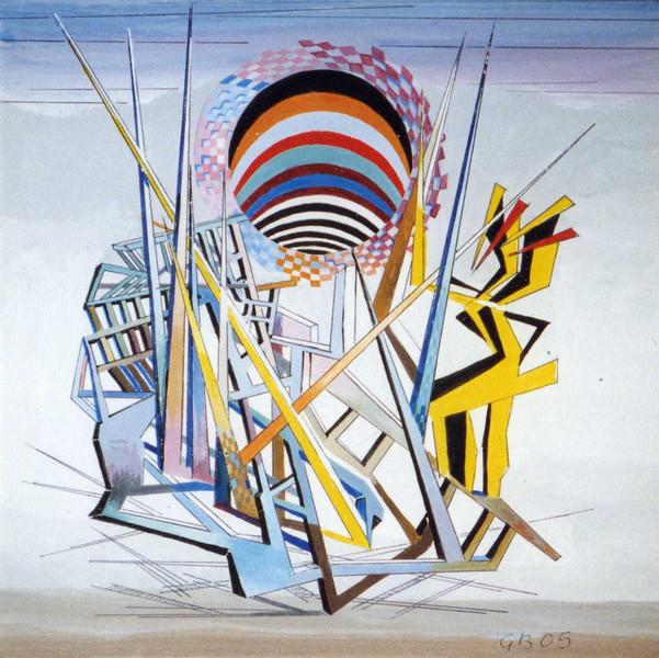 Grafik, Epressiv, Surreal, Abstrakt, Malerei