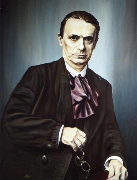 Portrait, Steiner, Anthroposphie, Figural, Religion, Malerei