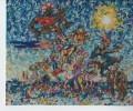 Surreal, Bevölkerungsexplosion, Malerei