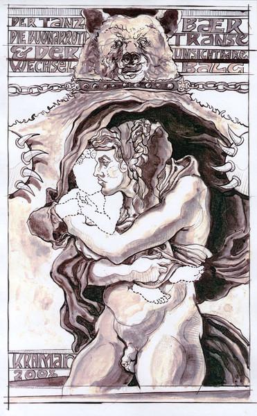 Kind, Tanzbär, Buonarroti, Baby, Michelangelo, Zeichnung