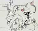 Zwangsehefeierlichkeiten, Zeichnungen