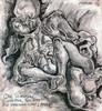 Unschuld, Tod, Tuschmalerei, Zeichnungen