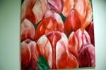 Blumen, Malerei, Rot, Tulpen