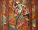 Malerei, Figur, Acrylmalerei, Abstrakt