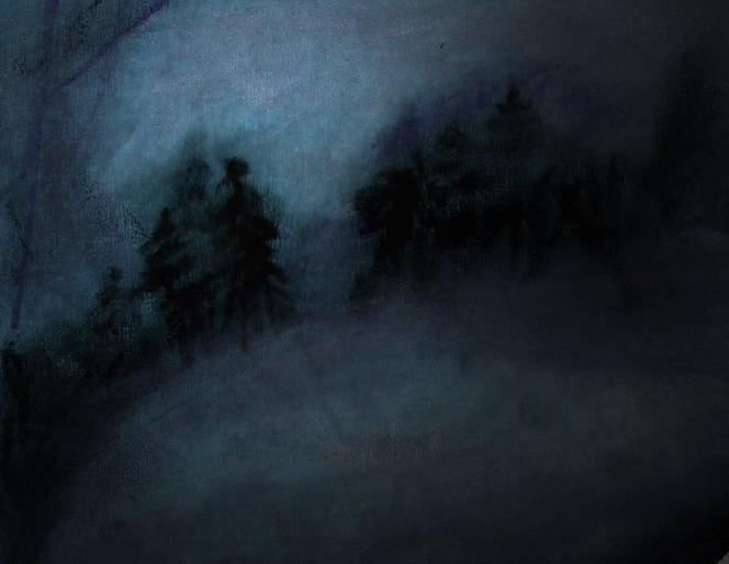 Landschaft, Zeichnung, Zeichnungen
