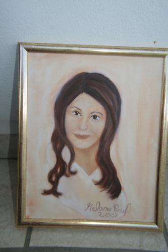 Ölmalerei, Menschen, Malerei, Portrait