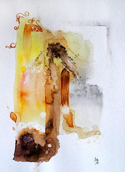 Aquarellmalerei, Berlin, Aquarell,