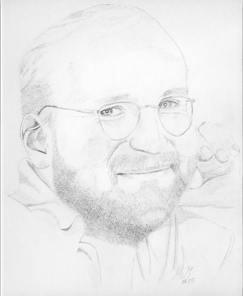 Portrait, Zeichnung, Bleistiftzeichnung, Zeichnungen