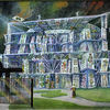 Bundeskanzleramt-Bundeskanzleramt Berlin-Bundeskartenhaus-Karikatur-Phantastische Architektur-Fantastic Architecture-Art and Culture