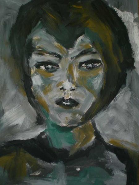 Figural, Malerei, Menschen, Mädchen