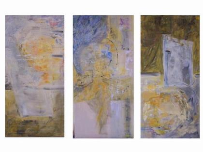 Farben, Gelb, Acrylmalerei, Grau, Malerei, Pastellmalerei
