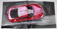 Autoindustrie, Auto, Malerei, Wagen