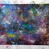 Acrylmalerei, Pigmente, Spachtel, Spayfarbe