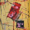 Abstrakt, Airbrush, Malerei, Acrylmalerei