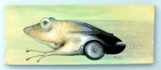 Malerei, Porsche, Frosch, Bbs