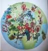 Tiere, Malerei, Landschaft, Kontinent