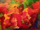 Abstrakt, Drache, Acrylmalerei, Malerei
