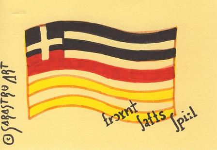 Sarastro, Rot schwarz, Gold, Griechisch, Nation, Abstrakt