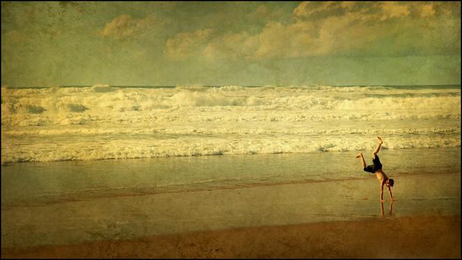 Menschen, Welle, Meer, Junge, Wasser, Atlantik