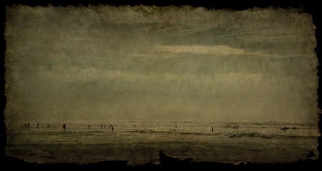 Menschen, Fotografie, Landschaft, Silhouetten, Meer, Welle