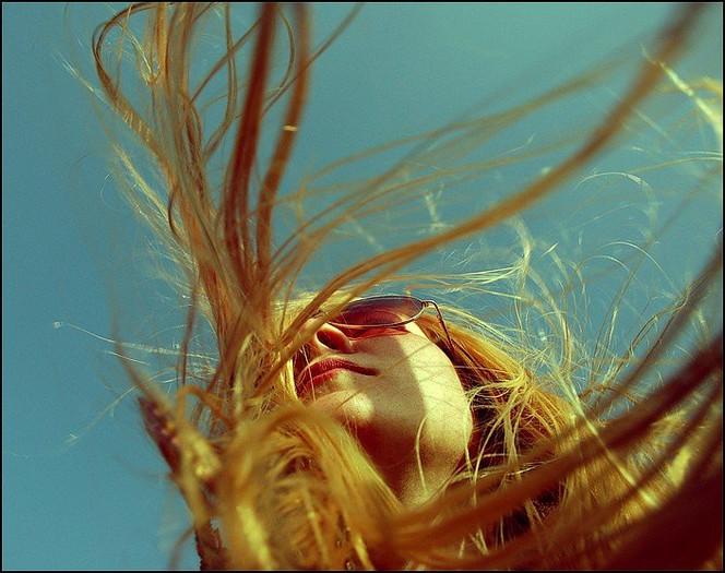 Wind, Haare, Menschen, Portrait, Jugend, Frau