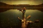Adler, Wasser, Schön, Landschaft