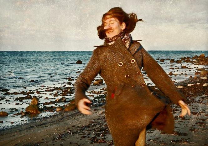 Freude, Strand, Glück, Schön, Natur, Fröhlichkeit