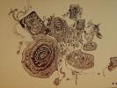 Abstrakt, Skizze, Gedanken, Zeichnungen