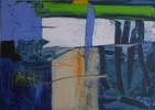 Abstrakt, Malerei, See