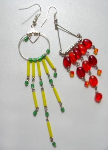 Perlen, Design, Schmuck, Ohrringe