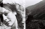 Reise, Portrait, Schwarz weiß, Marokko