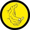 Hand, Gelb, Grafik, Logo