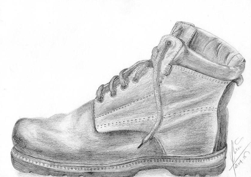 Schuhe Zeichnung 152 Bilder Und Ideen Gezeichnet Auf Kunstnet
